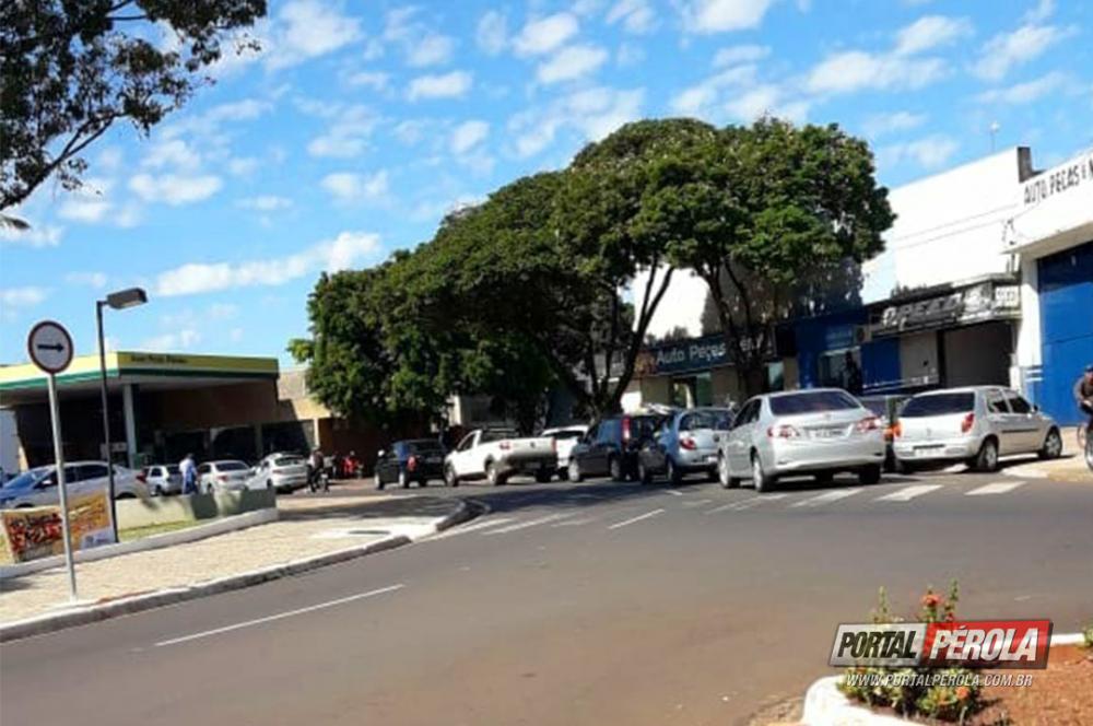 Com a mobilização em rodovias, postos de Pérola já estão sem combustíveis