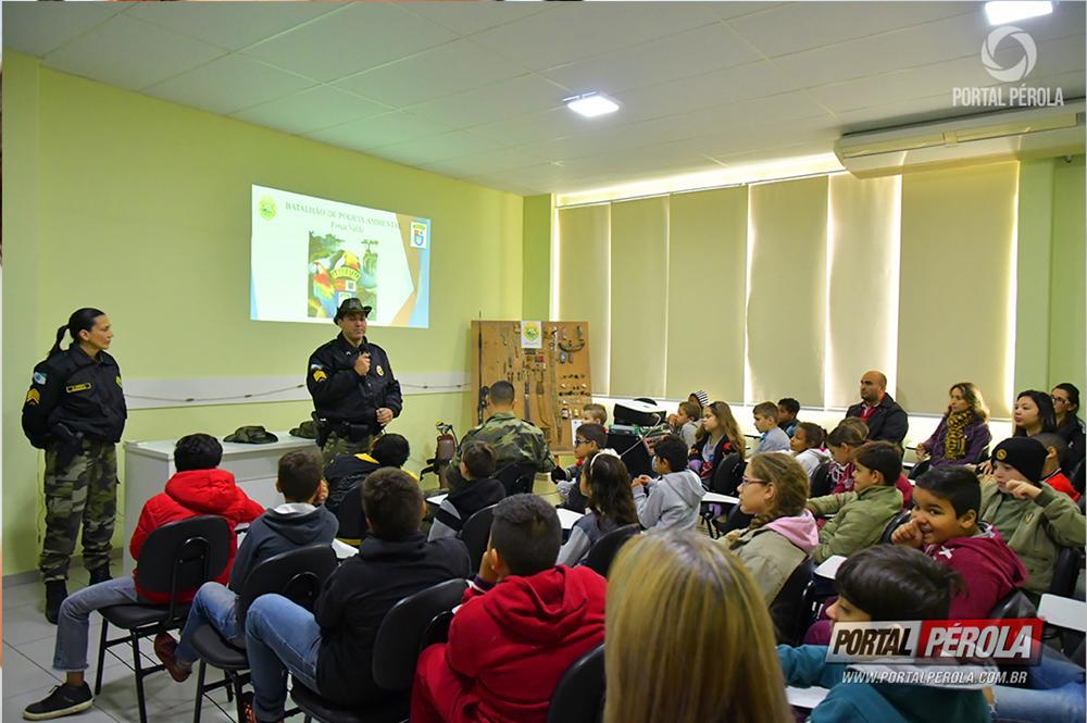 Defesa da biodiversidade é tema de palestra a alunos da rede municipal