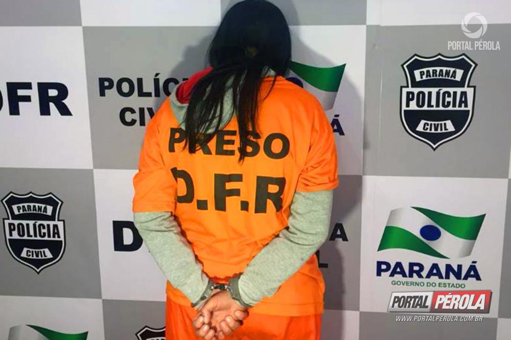 Mulher é presa suspeita de furtar colega de trabalho em casa noturna