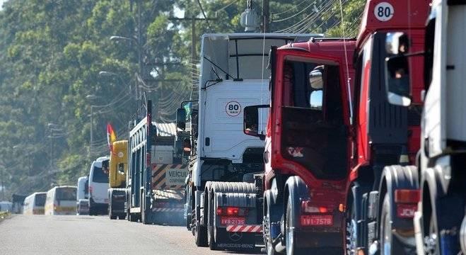 Paralisação dos caminheiros continua pelo 7º dia consecutivo