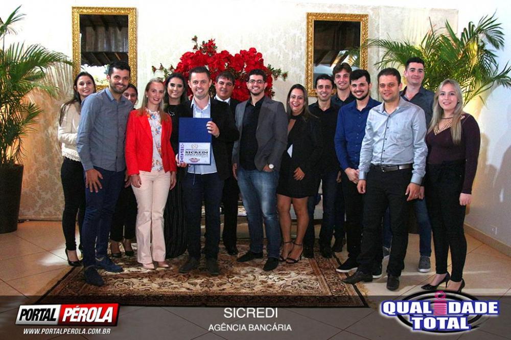 Prêmio Qualidade Total 2018 é entregue às empresas, profissionais e personalidades destaques de Pérola