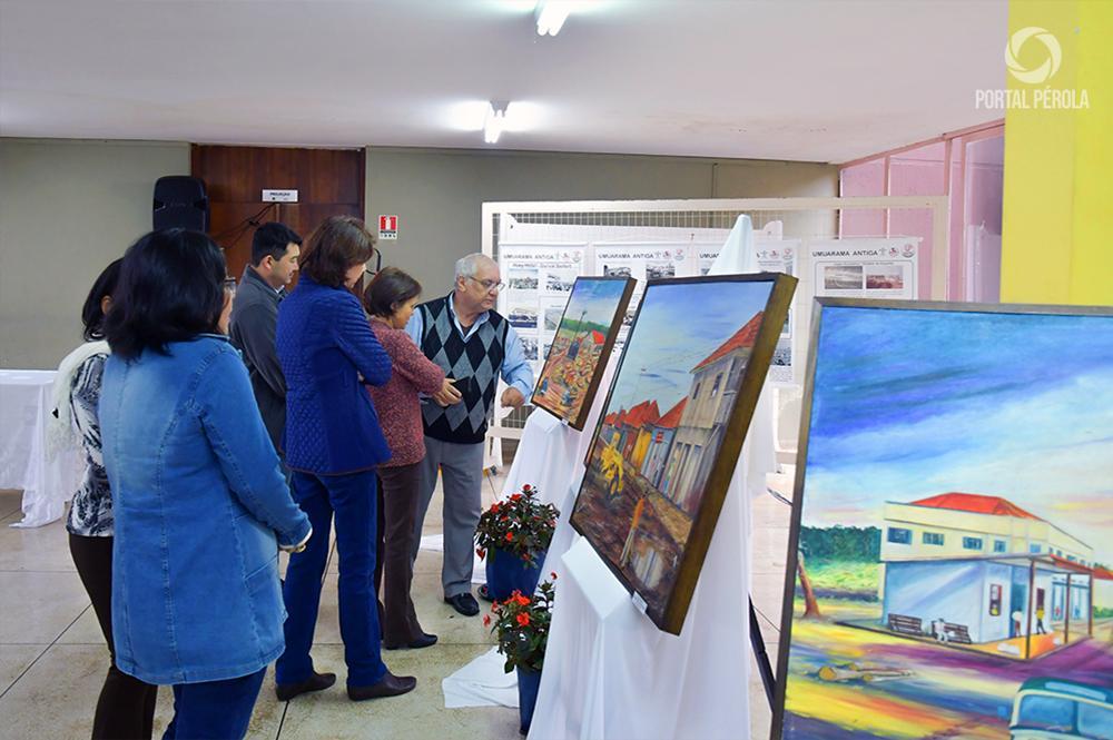 Centro Cultural Vera Schubert exibe telas históricas de Hachicho