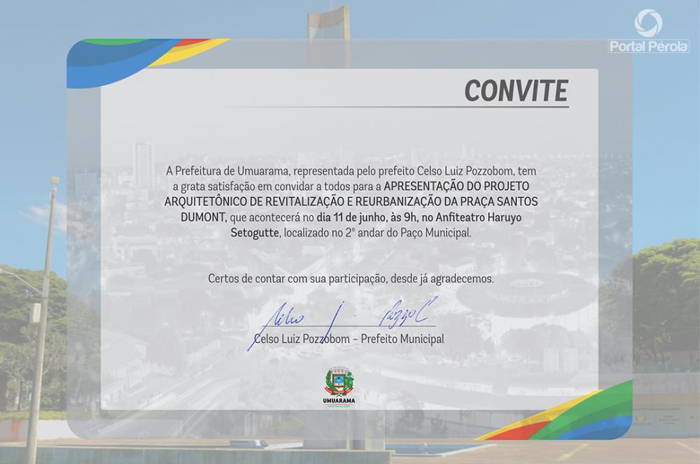 Santos Dumont ganha revitalização; projeto será conhecido nesta segunda