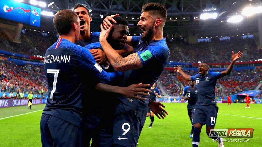 França é finalista na Copa do Mundo pela terceira vez