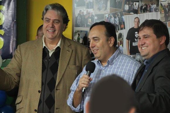Francischini é candidato ao Senado com Picler como suplente