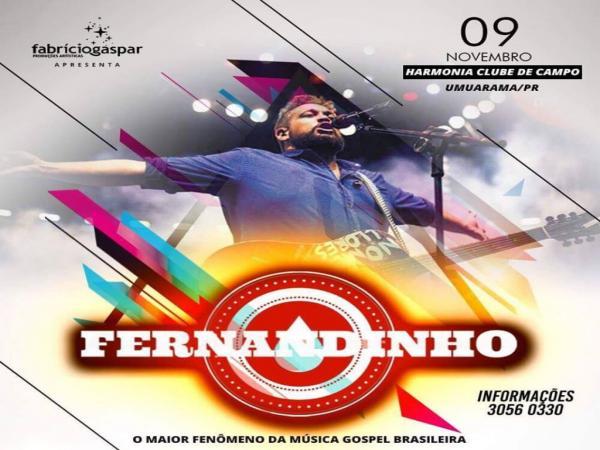 Show do Fernandinho no Harmonia Clube de Campo