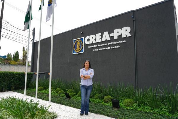Mariana Alice Maranhão - gerente do Defis Crea-PR / Foto: Divulgação