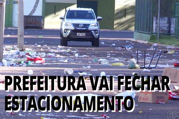 Após festa clandestina, prefeitura vai fechar estacionamento da Vila Olímpica de Maringá