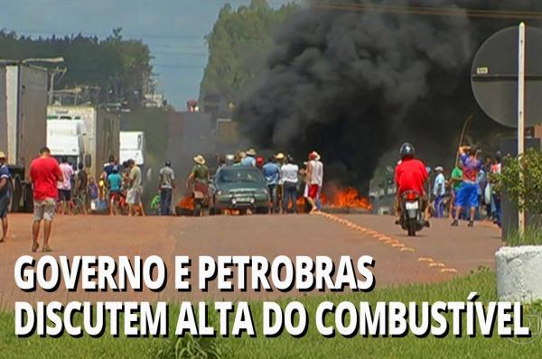 Governo e Petrobras discutem alta do combustível nesta terça feira